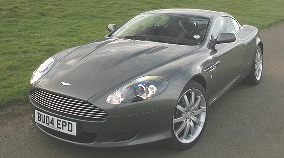 2005 Aston Martin DB9 picture