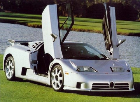 1992 Bugatti EB110 SS [SuperSport] picture