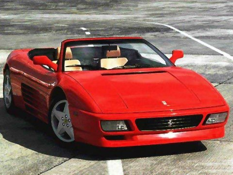 1993 Ferrari 348 Spider Wallpaper Pictures At Supercarstats