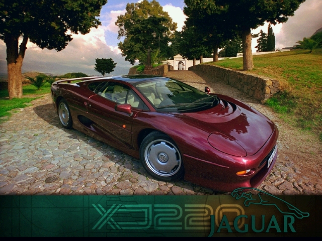 1993 Jaguar XJ220 Wallpaper