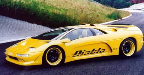 1997 Lamborghini Diablo Evolution GT1 picture