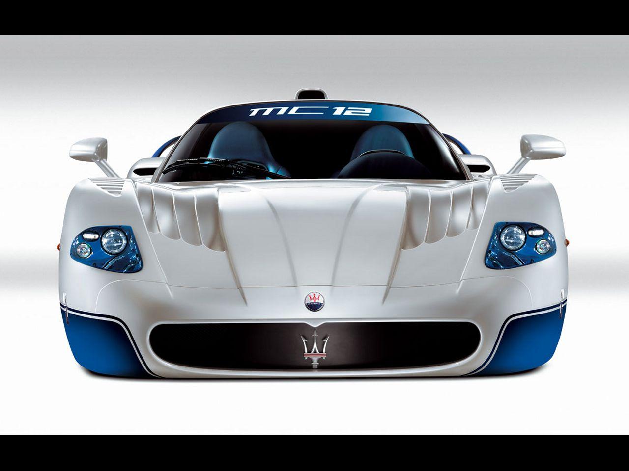 Wallpaper: 2005 Maserati MC12