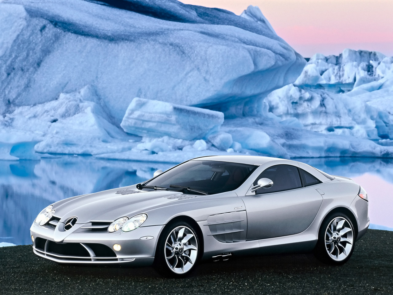Wallpaper : 2005 Mercedes-Benz SLR McLaren 1