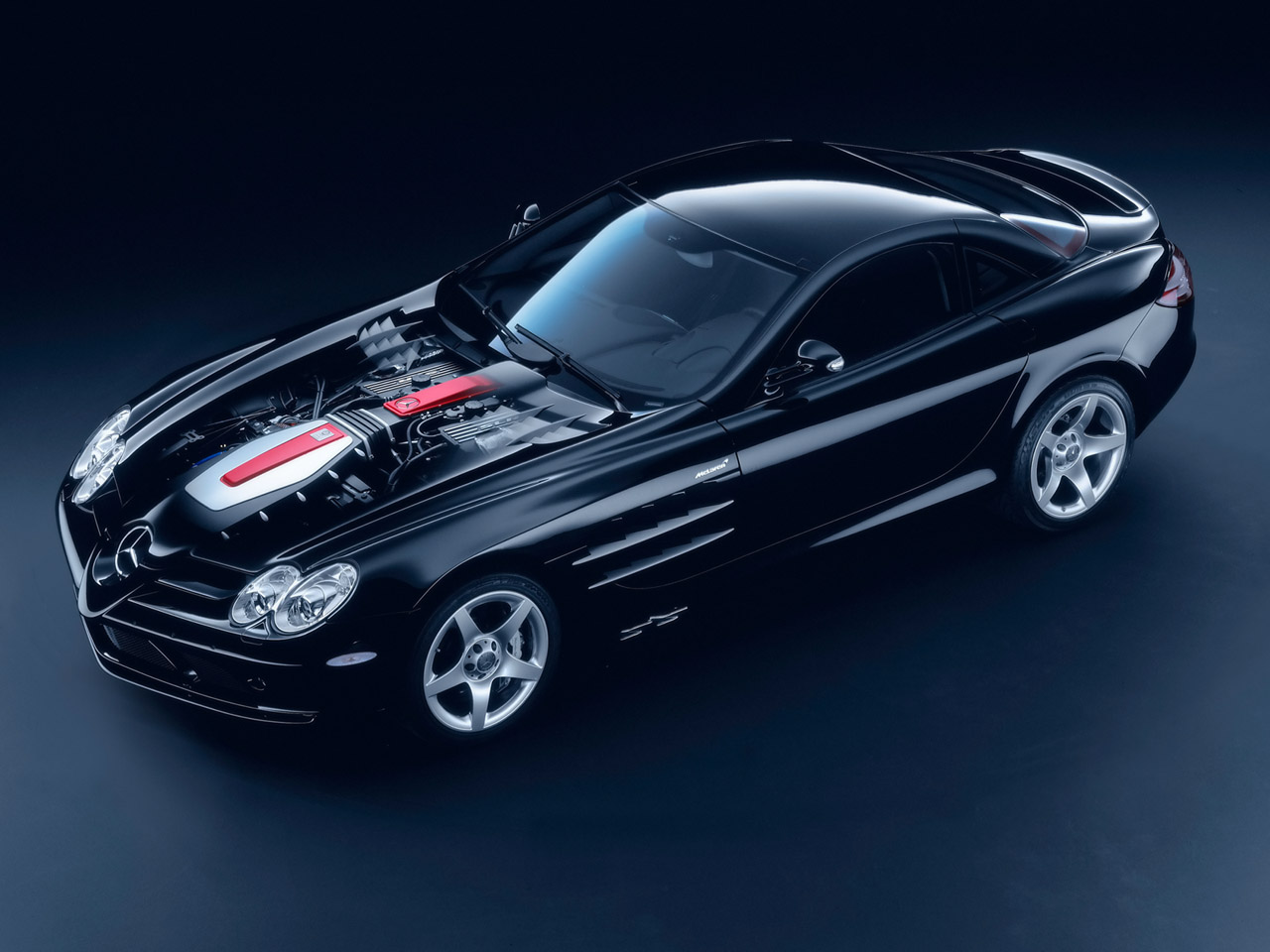Wallpaper : 2005 Mercedes-Benz SLR McLaren